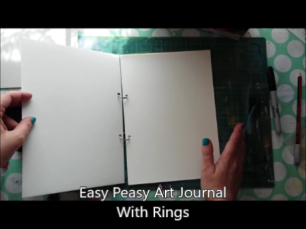 art journal with rings thumbnail