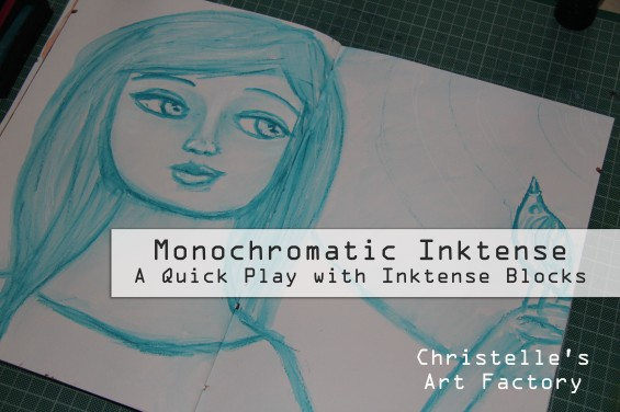 Monochromatic Inktense thumbn